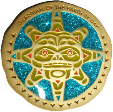 NATIVE AMERICAN TOTEM GEOCOIN - SUN - VARIOUS METALS - UNACT- NEW