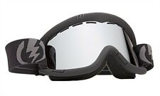NEW Electric EG1k Black Silver kids junior jr ski snowboard goggles 2014 Msrp$65