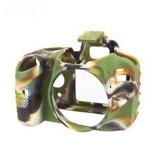 Easy Cover Nikon D 3200 Macchina Fotografica protettiva in silicone camuffamento