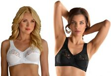 LADIES Soft Cup Stretch Firm Control Bras with Lace by Naturana 5046 34/44 B/F