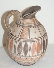 Michael Anderson Bornholm Danish Hand Painted scrafitto Jug