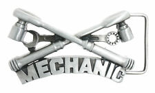 Mechanic Wrench Socket Tools Metal Belt Buckle