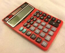 Big Red Official Calculator of the National Debt Calculator Solar Battery Vguc