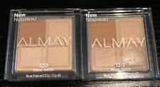 2 Almay Eyeshadow Quad - Shadow Squad - Never Settle New Sealed