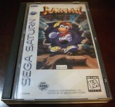 Rayman    (Sega Saturn, 1995)    Complete Game in Case with Instruction Manual