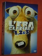 ERA GLACIALE cofanetto box - contiene 3 dvd  NUOVO SIGILLATO