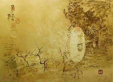 "Le Ba Dang ""Le Bout Du Passage"" Signed Lithograph Art with Embossing, orig CoA"