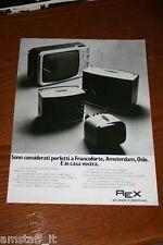 BG3=1972=REX TV TELEVISORE TELEVISIONE=PUBBLICITA'=ADVERTISING=WERBUNG=