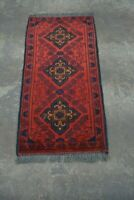 Free Shipping To USA Y1324 Best Small Afghan Khal Mohammadi Handmade Tribal Rug,