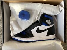 Nike Air Jordan 1 Retro High OG Game Royal White Blue 'Royal Toe' UK 9/ US 10