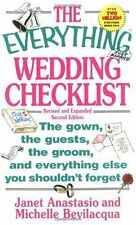 The Everything Wedding Checklist: The Gown, the Gu