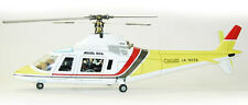 Agusta 109 Scale Radio Control Helicopter, Kit with Painted Body and Mechanics