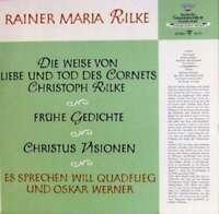 Will Quadflieg, Oskar Werner, Rainer Maria Rilke - Die  Vinyl Schallplatte 93506