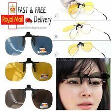 Día de visión nocturna polarizadas clip Lente de conducción gafas de sol para mujer hombre