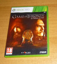 Jeu XBOX 360 - Game of thrones le trone de fer