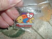 TY teenie BEANIE BABIES McDonald's Crew 2000 in Original Bag HAT/LAPEL PIN
