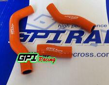 silicone radiator hose FOR KTM 450 SXF/SX-F/XC-F 2007 2008 2009 07 08 09 orange