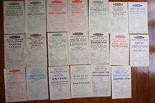 More details for 1949 western region railway handbills timetable x20 ref b33