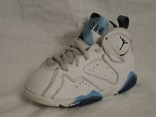 Nike Air Jordan 7 Retro Youth Shoe Sz 9C Athletic Kids 9 Blue White FREE S&H
