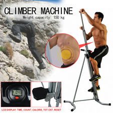 Exercise Climber Stepper Cardio Climbing Machine LCD Workout Vertical Cardio