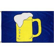 3x5 Advertising Beer Cerveza Mug Glass Bar Flag 3'x5' Banner Brass Grommets