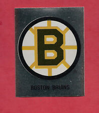 RARE 1987 BOSTON BRUINS  LOGO FOIL STICKER CARD