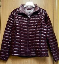 NEW $325 Mountain Hardwear Ghost Whisperer Down Jacket Womens M Dark Tannin