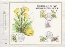 d feuillet CEF Monaco  flore fleurs plantes du Mercantour  1985