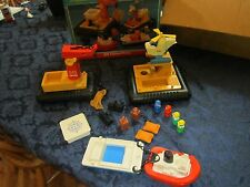 Fisher Price Little People Off Shore Cargo Base 945 d Set Offshore Box diver set