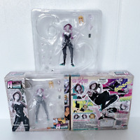Revoltech Spider Gwen Stacy With Bracket Action Figure Collection Model Toy Gift