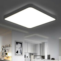 Bright 24W Square LED Ceiling Down Light Panel Wall Bathroom Lamp White Small UK
