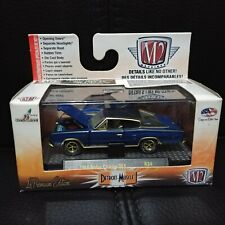 1/64 M2 DETROIT MUSCLE R34 GOLD CHASE 1966 DODGE CHARGER 383 1 OF 500 !!!!!