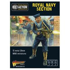 ROYAL NAVY SECTION -  BOLT ACTION - WARLORD GAMES WW2 - 28MM