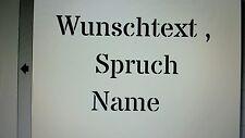 Schablone Wunschtext, Spruch , Name usw. auf A4