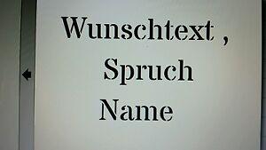 Schablone  Stencil Wunschtext auf A4