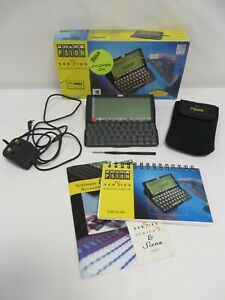 Psion Series 5 Handheld Computer PDA - Box, case, user guide, stylus, mains lead