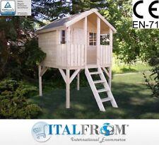 Casette di Legno Toby Casetta da Giardino in Legno Bimbi 16mm ITALFROMBABY02