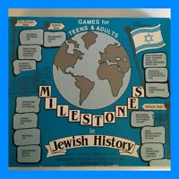 Milestones In Jewish History Board Game For Teens And Adults - Rare 1985