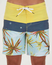City Beach Quiksilver Highline Block Salty Palms 18 Boardshorts