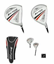 ORLIMAR SENIOR EDITION 460cc DRIVER & 3 WOOD wSENIOR'S GRAPHITE SHAFT+HEAD COV