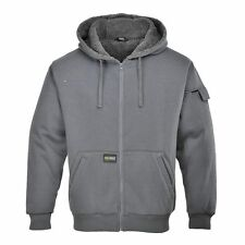 Mens Hoody Stylish & Warm Jacket Zipped Sweatshirt Winter Work Outdoors KS32
