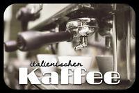 Italienischer Kaffee Blechschild Schild gewölbt Metal Tin Sign 20 x 30 cm CC0285