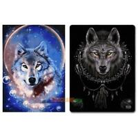 Wolf 5D Diamond DIY Embroidery Painting Cross Stitch Craft Kit Home Decor