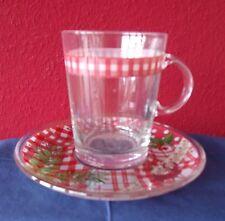 """Hutschenreuther Motiv """"Märchenwald"""" Teeglas, Grogglas, 2-teilig, neu"""
