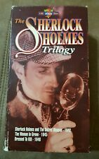 Sherlock Homes - The Woman In Green,The Secret Weapon,Dressed To Kill (VHS)