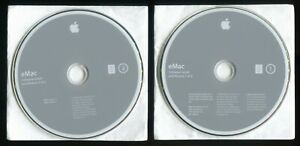 eMac System Software Install & Restore Discs OS 10.3.3 DVD ©2004 691-4909-A