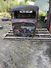 1937 Ford Pickup Truck Cab Body Cowl Roof Rat Rod Hot Rod Shop Truck 36 37  #2