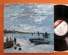 EMX 2141 Elgar Serenade Warlock Capriol Holst Malcolm Sargent NM/EX EMI Eminence