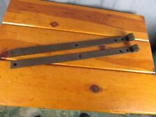 "Strap Hinges Vintage Set of 2 Barn Door Hand Forged  18"" X 1"" Great Look"