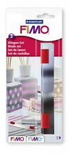 Staedtler Fimo Cutter Blades (Pack of 3)  Arts Crafts Tool Kids Modelling Clay